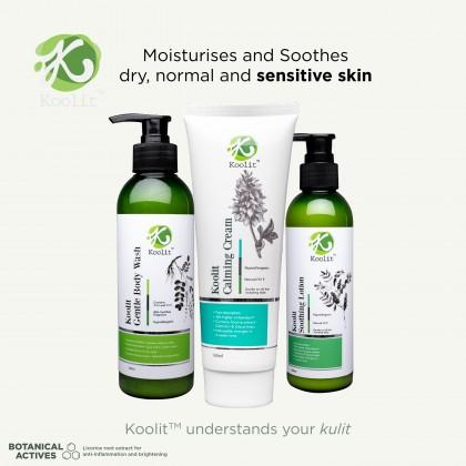 Koolit Calming Cream 100ml+ Koolit Gentle Body Wash 300ml