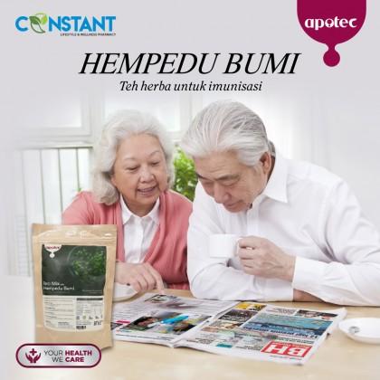 Apotec Tea Mix Hempedu Bumi (Canister)
