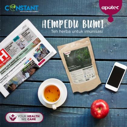 Apotec Tea Mix Hempedu Bumi