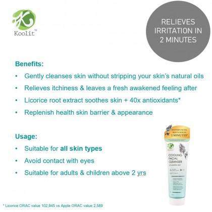 Koolit Cooling Facial Cleanser